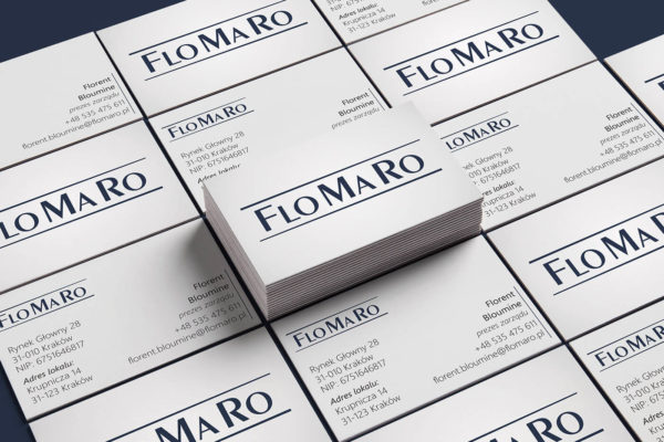 Wizytówki Flomaro